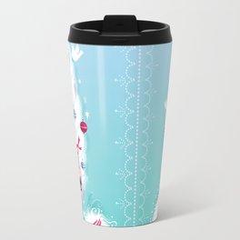 Christmas Coiffure Travel Mug