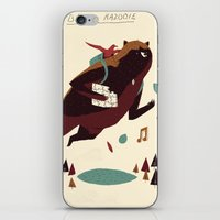 banjo iPhone & iPod Skins featuring banjo-kazooie by Louis Roskosch