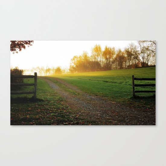Heavens gate Canvas Print
