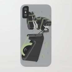 Tape is stronger iPhone X Slim Case