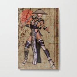 Yoshiko 5 Metal Print