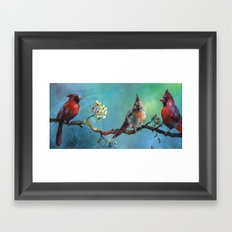 Interruptions Framed Art Print