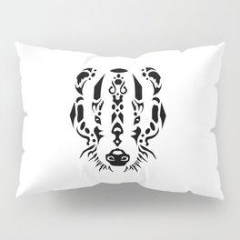 Tribal Badger Pillow Sham