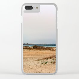 The Southend Of Wrightsville Beach Clear iPhone Case
