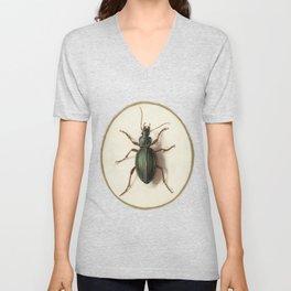 Vintage beetle Unisex V-Neck