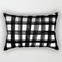 Black cage Rectangular Pillow