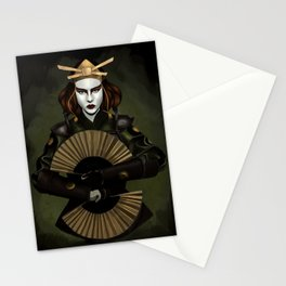 Kyoshi Warrior Painting Stationery Cards