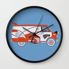 Pee Wee's Big Adventure Van Wall Clock