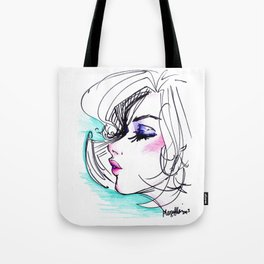 Sharpie Scribble Tote Bag