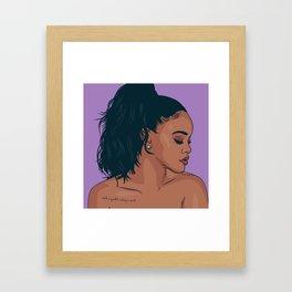 RiRi Framed Art Print