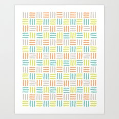 woven Art Print