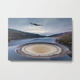 Dam Runner Metal Print