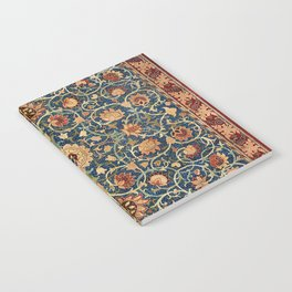 William Morris Floral Carpet Print Notebook