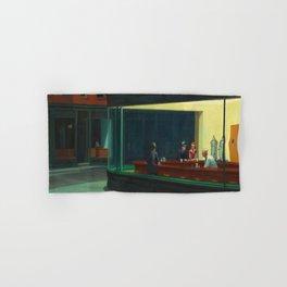 Edward Hopper's Nighthawks Hand & Bath Towel