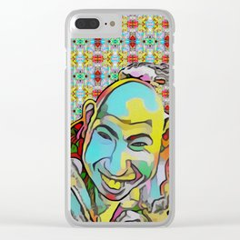 Portrait of a Sideshow Performer - Schlitzie Clear iPhone Case