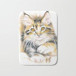 Maine Coon Kitty Bath Mat