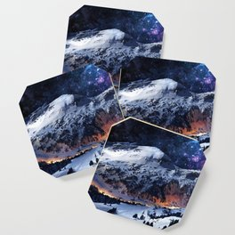 Mountain CALM IN space view Coaster