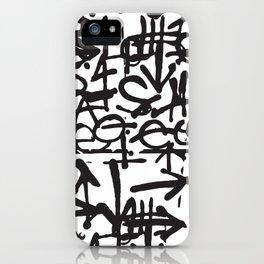 Graffiti Pattern iPhone Case