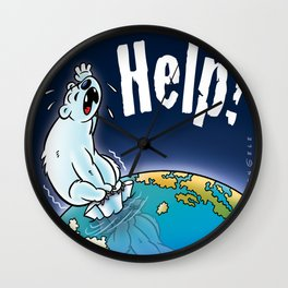 Help the planet! Wall Clock