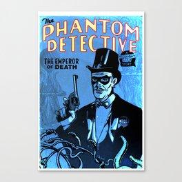 PHANTOM DETECTIVE- MIDNIGHT CITY - GMB CHOMICHUK Canvas Print
