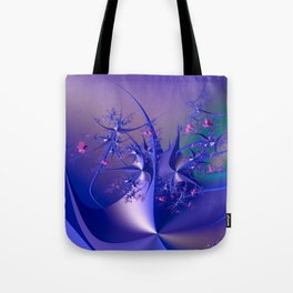 The dance of flowers Tote Bag