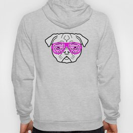 Hipster Puppy Hoody