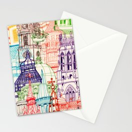 London Towers Stationery Cards