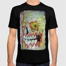 the SKULL Mens Fitted Tee Black 2X-LARGE