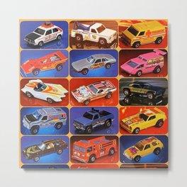 Rare Hot Wheels Italian Market Mebetoys Redline Flying Colors Poster Metal Print