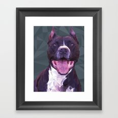 Boss Dog Framed Art Print