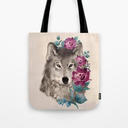 Gently Ferocious Tote Bag