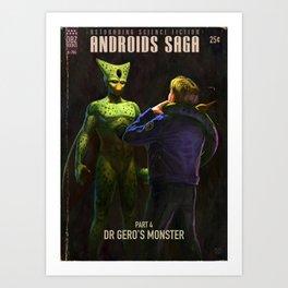 Androids Saga - Dr Gero's Monster Art Print