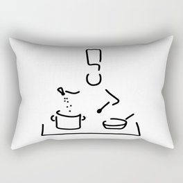 cook gourmet cooker Rectangular Pillow