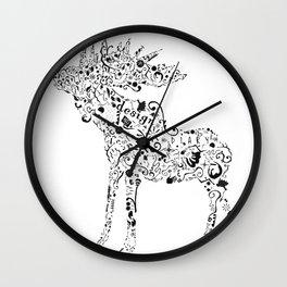 Many shapes of the Moose Wall Clock