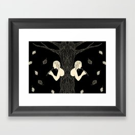 Wintering Framed Art Print