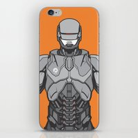 robocop iPhone & iPod Skins featuring Robocop  by EkaPerdana27