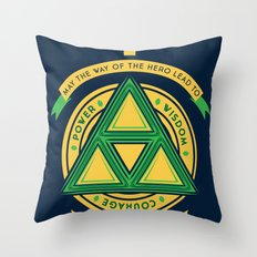 May the way of the hero lead to: Throw Pillow