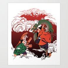 Legendary tale Art Print