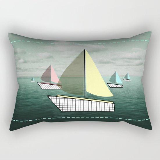 boat-full Rectangular Pillow