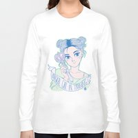 magical girl Long Sleeve T-shirts featuring MAGICAL GIRL IN TRAINING by Natalie Nardozza
