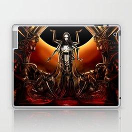 Black Sun Rising Laptop & iPad Skin