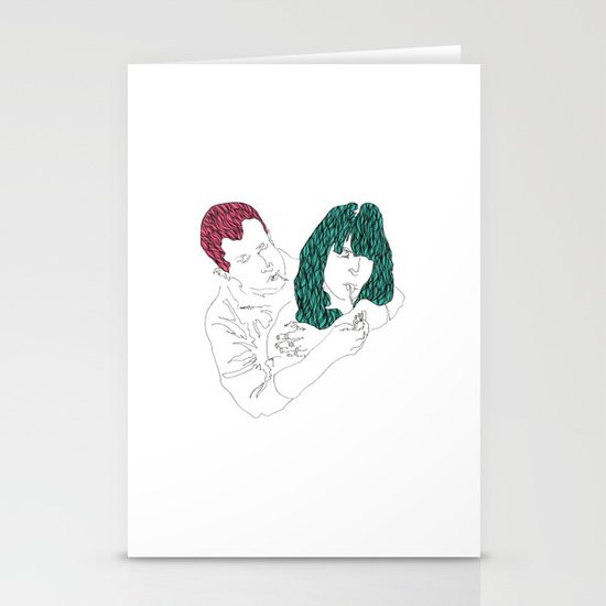 Hang Out Stationery Cards