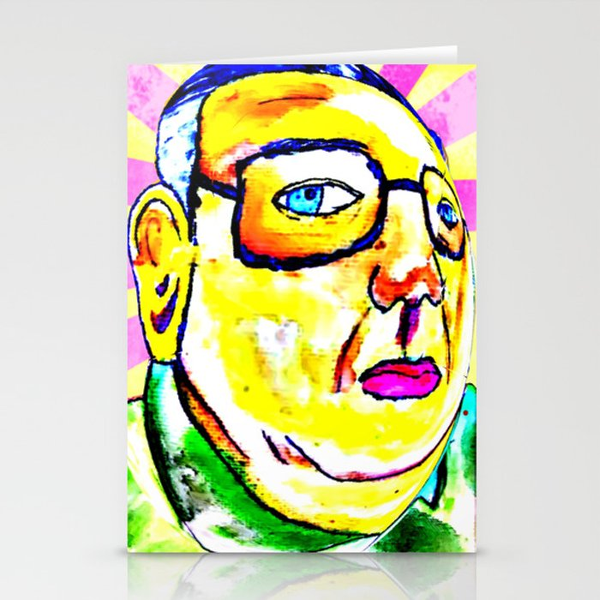 Kim Jong Il has Pretty Lips Stationery Cards