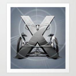 Superbet 'X' Art Print