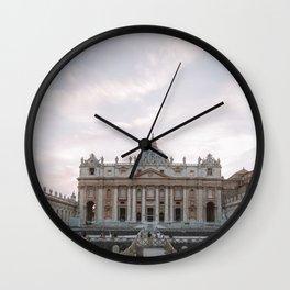 Vatican Wall Clock
