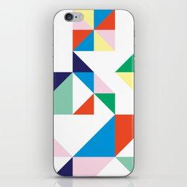 Confetti In a Grid iPhone Skin