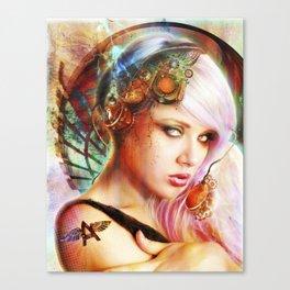 Astrid the Navigatrix Canvas Print