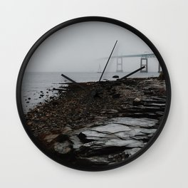 Claiborne Pell Newport Bridge Wall Clock