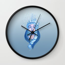 Icicle Crown Wall Clock