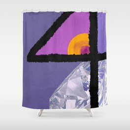 Diamond Four Shower Curtain